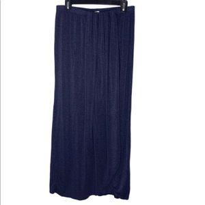 Max Studio draped tulip maxi skirt